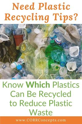 What Plastics Can Be Recycled Pinterest pin