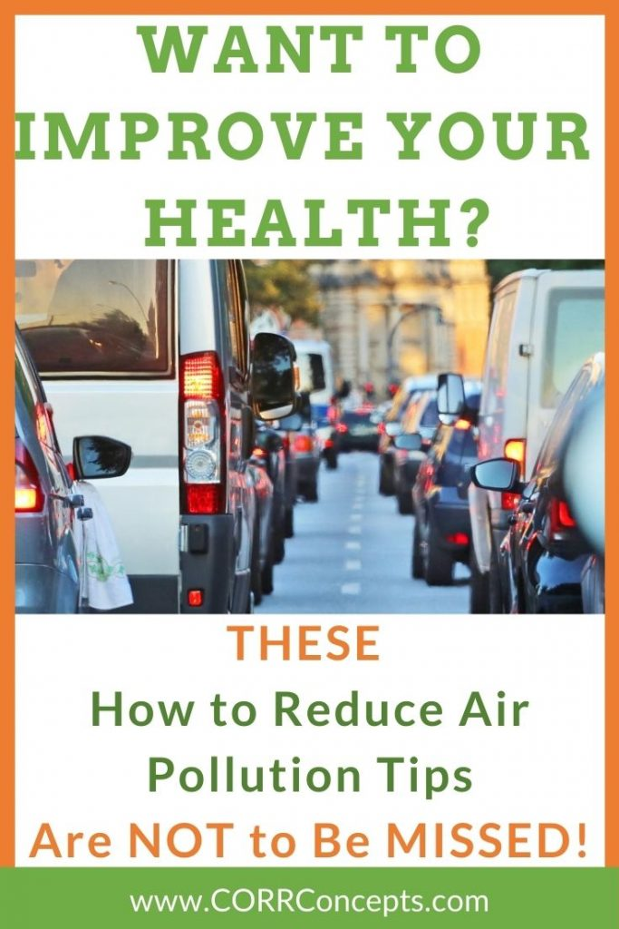 Reduce Air Pollution Outdoors Pinterest image