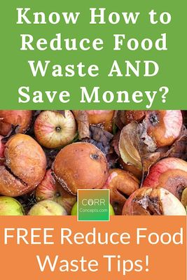 Ways to Reduce Food Waste and Save Money-Pinterest image