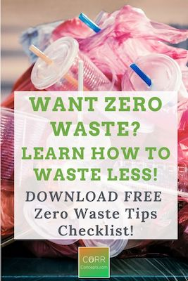 Zero Waste Tips Pinterest Pin