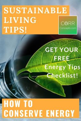 How to Conserve Energy and Why Pinterest Pin