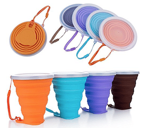BlueBeach Pack of 4 Collapsible Cup are Eco-Friendly Products for Travel