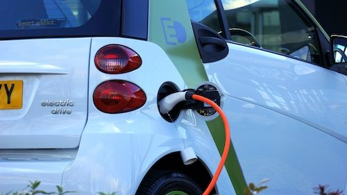 EV car charging reduces Air Pollution