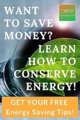 How to Conserve Energy Pinterest image