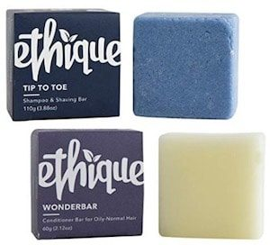 Ethique Eco-Friendly Shampoo Conditioner Bars are Eco-Friendly Products for Travel