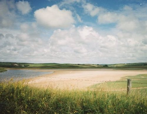 Irish country landscape