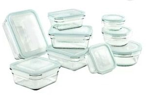 Glasslock 9 Container Food Storage Set