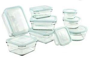 Glasslock 9 Container Food Storage Set