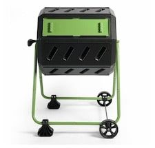 Hot Frog 37 Gal Mobile Compost Tumbler