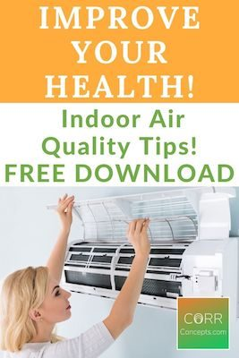 Indoor Air Pollution Reduction Tips Pinterest Pin