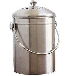 Kitchen Stainless Steel Compost Bin