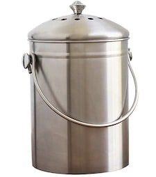 Kitchen Stainless Steel Compost Bin