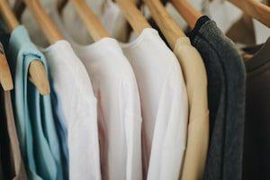 Long Sleeves Shirts on Hangers