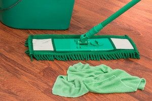 Mop and bucket-Cleaning