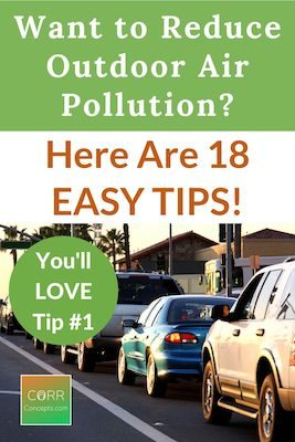 Reduce Air Pollution from Vehicles Pinterest Pin