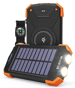 Portable Solar Power Bank is an Eco-Friendly Product for Travel