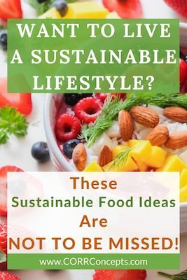 Food Sustainability Tips Pinterest image