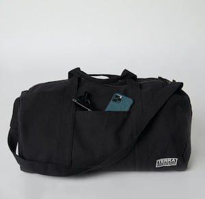 Terra Thread BUMI Duffel best eco-friendly carry-on luggage