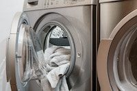 Towel of out washing machine_Appliances_Water Conservation