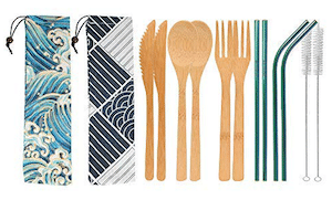 UPTRUST Utensil Set-2pk are Eco-Friendly Products for Travel