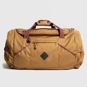 UnitedByBlue_55L Carry-On Duffle best eco-friendly carry-on luggage