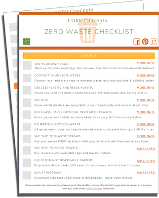 Zero Waste Checklist download image