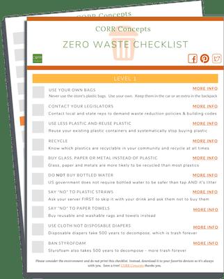Zero Waste Checklist download image