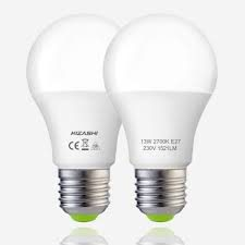 2 LED lightbulbs are ways to save energy in winter