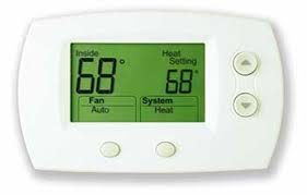 Thermostat at 68 degrees image is a tip on how to save energy